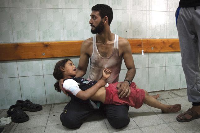 Gaza Luglio 2014,  fotografo: Finnbarr O'Reilly