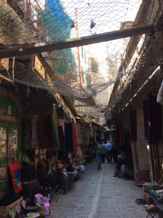 Foto di Romana Rubeo scattata in questi giorni a Hebron (22 agosto 2015)