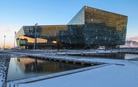 Finanzieri Islandesi diffondono timori che i sostenitori ebrei avrebbero ritiratoun progetto alberghiero vicino alla sala concerti di Reykjavik a causa del voto del consiglio della città di boicottare i prodotti israeliani. (Bob Travis / flickr)