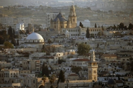 A general view of Jerusalem's Old City is seen on April 14, 2014. (AFP/Thomas Coex/File)