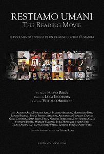 Restiamo_Umani_-_The_Reading_Movie_-_POSTER