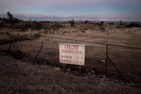 ISRAEL-ENVIRONMENT-NATURE-DEAD SEA