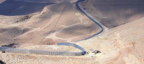 Netanyahu Visits Border Fence To Mark Its Completion