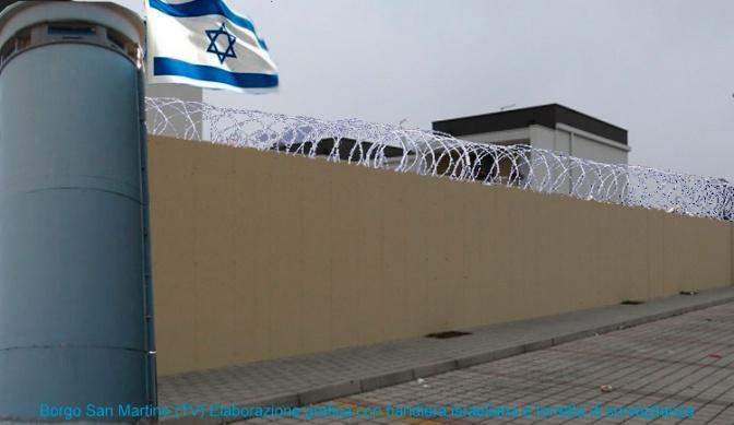 Il modello Israele a Treviso: un muro alto tre metri per il primo quartiere fortificato della città
