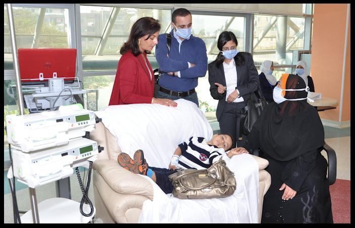 gaza child cancer