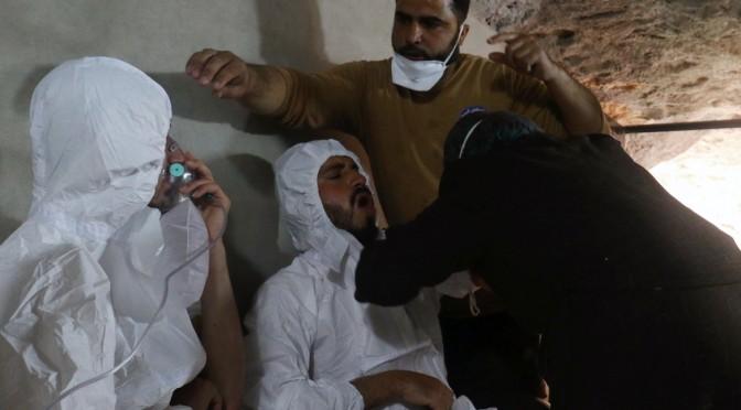 58 morti di gas in Siria: il mondo riscopre la guerra